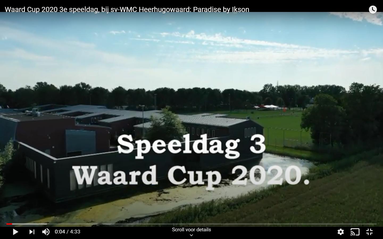 Video 3e speeldag Waard Cup